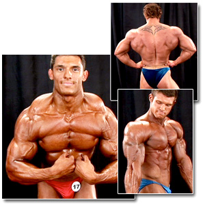 2008 NPC Teen & Collegiate National Championships Men's Backstage Posing 2