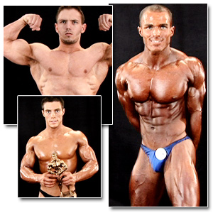 2009 NPC Teen & Collegiate National Championships Men's Backstage Posing Part 1