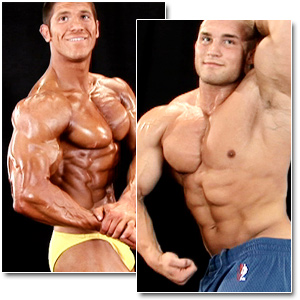 2009 NPC Teen & Collegiate National Championships Men's Backstage Posing Part 2