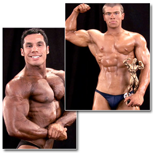 2010 NPC Teen & Collegiate National Championships Men's Backstage Posing 2