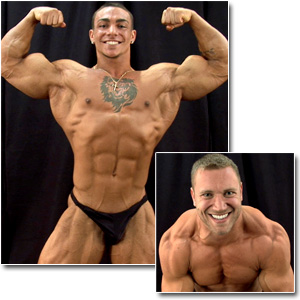2011 NPC Collegiate Nationals Men's Backstage Posing