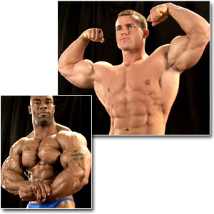 2011 NPC National Championships Men's Backstage Posing Part 2