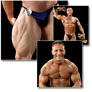 2012 NPC Masters Nationals Men's Backstage Posing (Over 50/60/70)