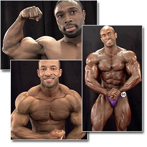 2012 NPC Nationals Men's Bodybuilding Backstage Posing Part 2
