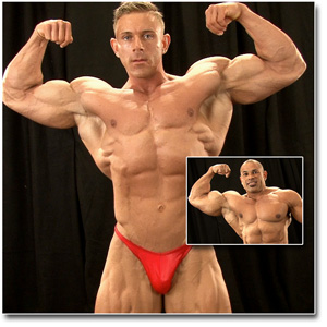 2013 NPC National Championships Men's Bodybuilding Backstage Posing Part 2