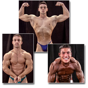 2014 NPC Teen & Collegiate Nationals Men's Backstage Posing Part 1
