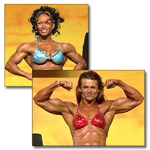 2002 NPC Nationals Women's Bodybuilding Evening Show