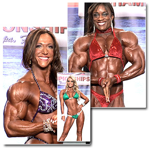 2012 IFBB PBW Tampa Pro Women's Evening Show Finals