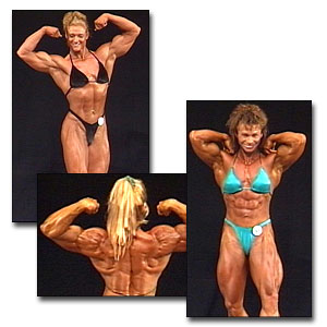 2000 NPC USA Women's Bodybuilding Prejudging