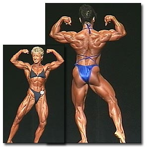 2000 NPC Nationals Women's Bodybuilding Prejudging