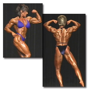 2001 NPC Nationals Women's Bodybuilding Prejudging