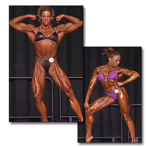 2002 NPC Nationals Women's Bodybuilding Prejudging