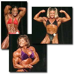 2003 NPC Junior National Women's Bodybuilding Prejudging