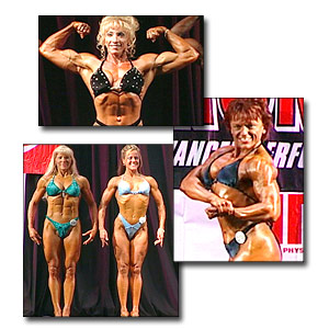 2003 NPC Masters National Women's Prejudging