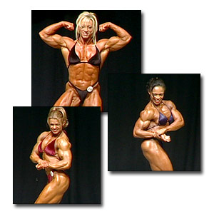 2003 NPC USA Women's Bodybuilding Prejudging