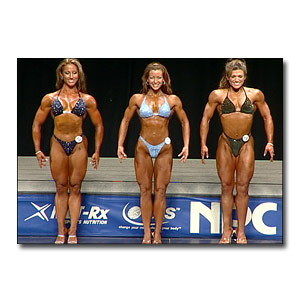 2003 NPC USA Women's Fitness Prejudging