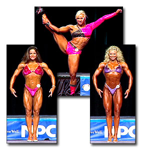 2004 NPC National Championships Women's Fitness Prejudging