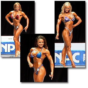 2005 NPC USA Women's Figure Prejudging