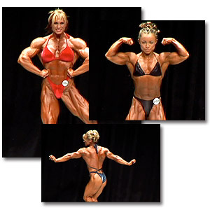 2005 NPC USA Women's Bodybuilding Prejudging