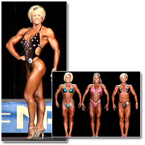 2007 NPC National Championships Women's Fitness Prejudging
