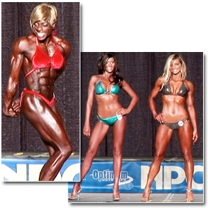 2009 NPC Junior Nationals Women's Bodybuilding, Fitness & Bikini Prejudging