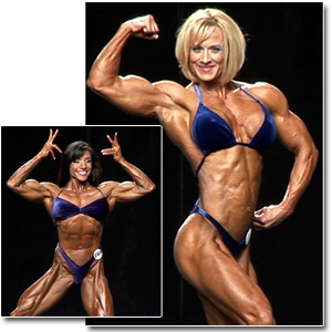 2010 NPC National Championships Women's Bodybuilding Prejudging