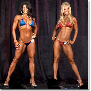 2011 NPC Masters Nationals Women's Figure & Bikini Prejudging