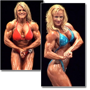 2011 NPC National Championships Women's Bodybuilding Prejudging