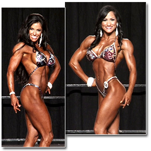 2012 NPC Junior Nationals Women's Figure Prejudging