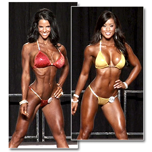 2012 NPC Junior Nationals Women's Bikini Prejudging
