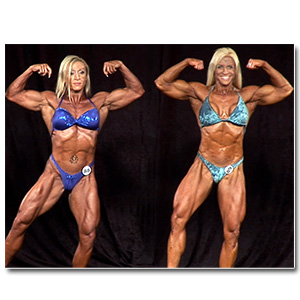 2012 NPC Masters Nationals Women's Bodybuilding & Physique Prejudging