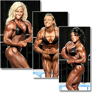 2012 NPC Nationals Women's Bodybuilding Prejudging