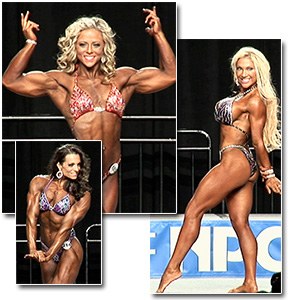 2012 NPC Nationals Women's Physique Prejudging