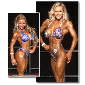 2013 NPC Junior Nationals Women's Figure Prejudging