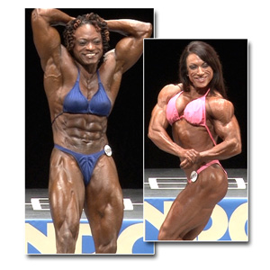 2013 NPC National Championships Women's Bodybuilding Prejudging