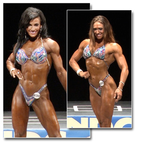 2013 NPC National Championships Women's Figure Prejudging