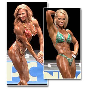 2013 NPC National Championships Women's Physique Prejudging