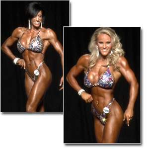 2014 NPC Junior Nationals Women's Figure Prejudging
