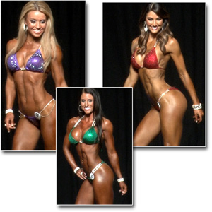 2014 NPC Junior Nationals Women's Bikini Prejudging