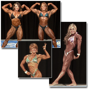 2014 NPC Nationals Women's Bodybuilding & Physique Prejudging
