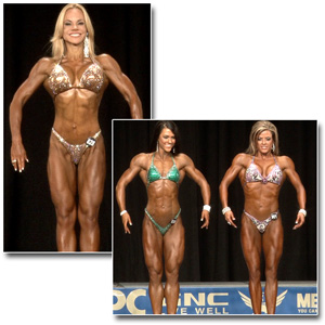 2014 NPC Nationals Women's Figure Prejudging
