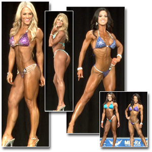 2014 NPC Nationals Women's Bikini Prejudging