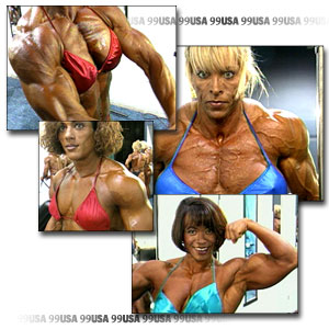 1999 NPC USA Women's Pump Room