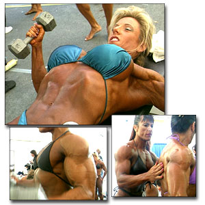 1998 NPC Nationals Women's Pump Room
