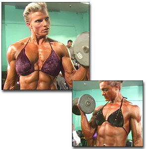 2000 NPC Junior Nationals Women's Pump Room