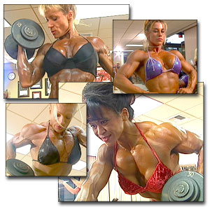2000 NPC USA Women's Bodybuilding Pump Room