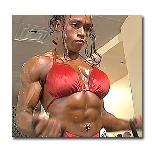 2000 NPC Nationals Women's Pump Room