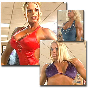 2000 NPC USA Women's Fitness Pump Room