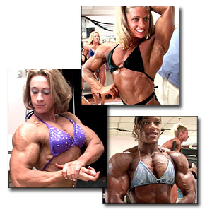 2003 NPC Junior Nationals Women's Bodybuilding Pump Room