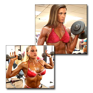 2003 NPC USA Women's Fitness Pump Room